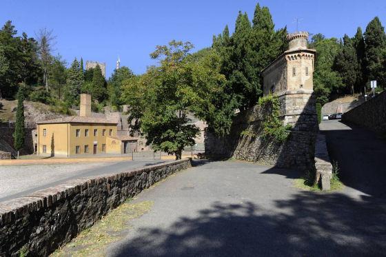 Montecatini, la via di accesso alla miniera