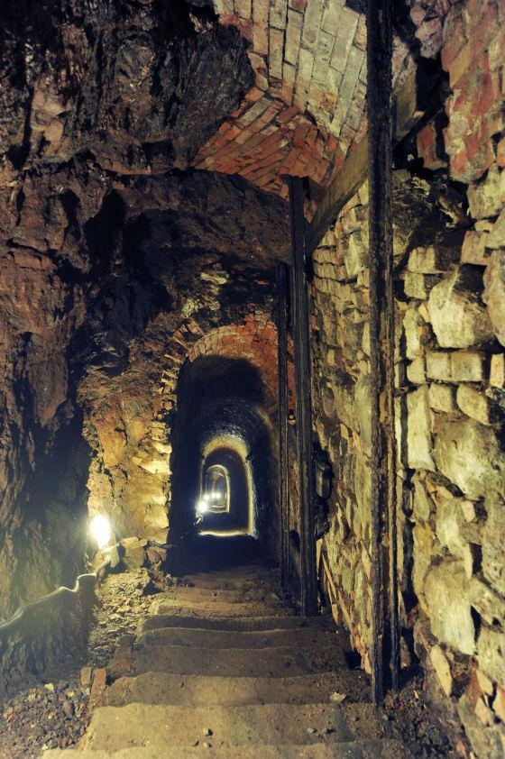 Montecatini, dentro la miniera