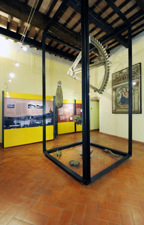 Montecatini, sala del Museo delle Miniere