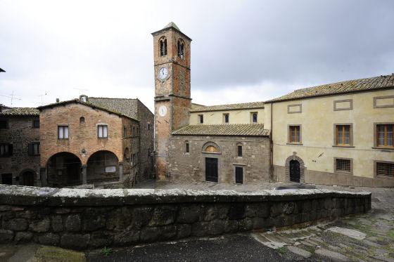 Montecatini, Palazzo Pretorio e Chiesa di S.Biagio