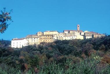 Fotografia panoramica di Monteverdi Marittimo