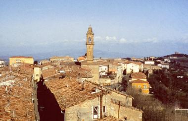 Panoramica Pomarance